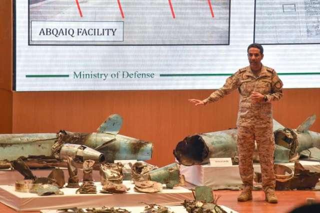 «L'attaque a été lancée du Nord et était indéniablement commanditée par l'Iran», a déclaré le colonel Turki al Malki, porte-parole du ministère de la défense, lors d'une conférence de presse à Riyad, mercredi 18 septembre.