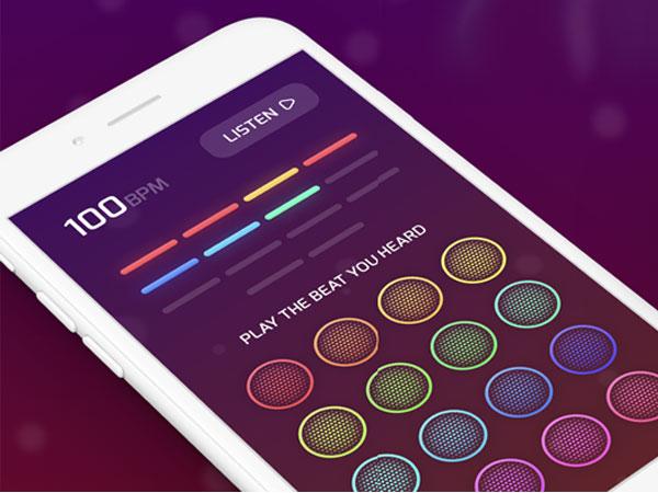 beet drum machine game iphone ipad 1 - BEET iPhone Pad - La Boite à Rythme Ludique (gratuit)