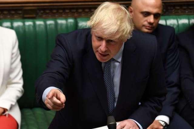 Le premier ministre Boris Johnson utilise un vocabulaire qui entretient cette ambiance délétère autour du Brexit.