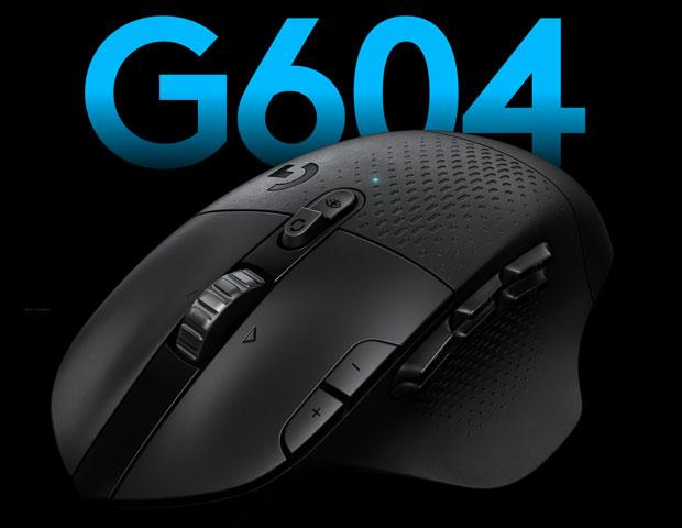 Souris gaming G604 LIGHTSPEED de Logitech