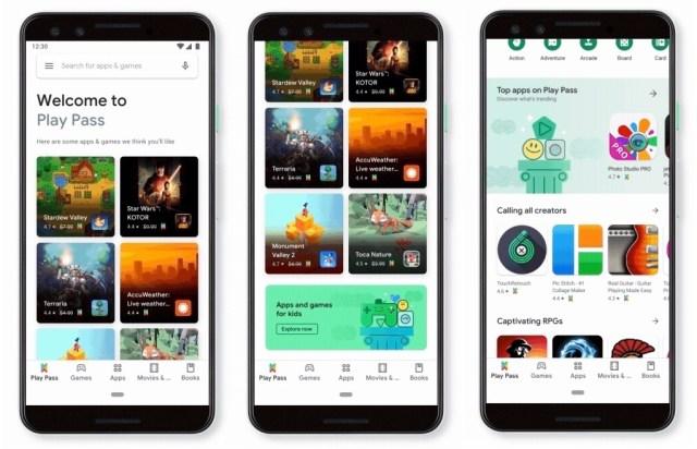 Google Play Pass Screenshots