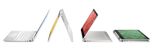 HP : Chromebook x360 12b et 14b avec prise en charge d'Universal Stylus