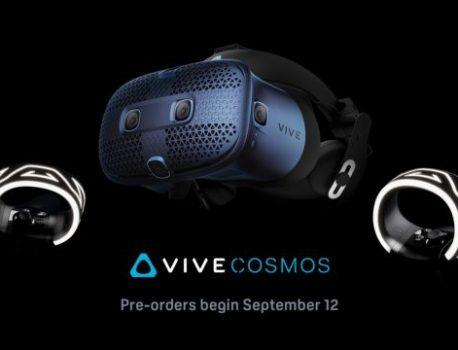 HTC Vive Cosmos : Prix, specs et précommandes lancées ce jeudi !