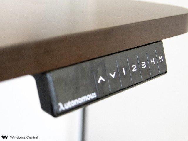 Control Panel Autonomous Desk