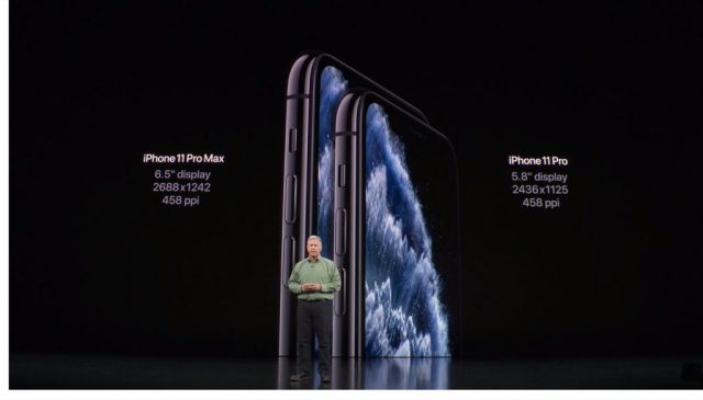 Taille iPhone 11 Pro