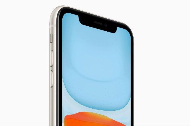 Écran de l'iPhone 11
