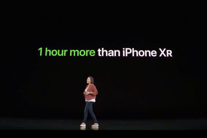 Autonomie iPhone 11