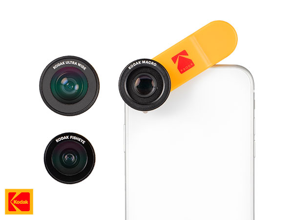 kodak smartphone photography kit iphone accessoires 03 - Kit Photo Kodak de 5 Accessoires pour iPhone et Smartphones