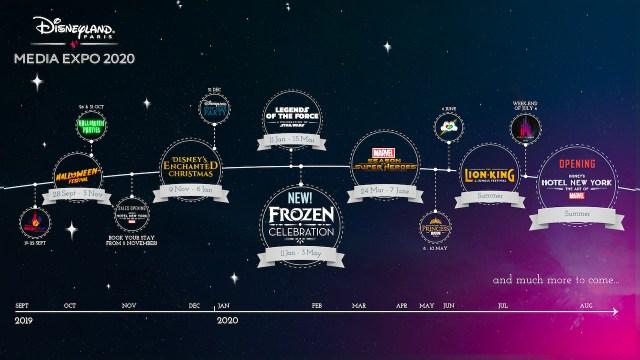 Disney Programme 2020 Media Expo 2019