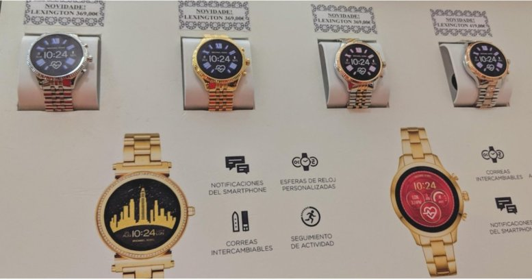 Michael Kors Access Lexington leaks as new Wear OS