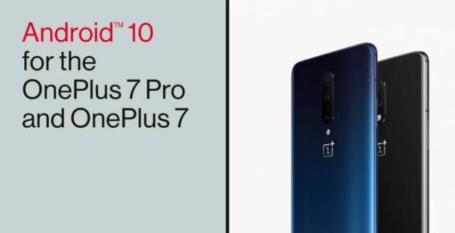 Android 10 OxygenOS 10.0 OnePlus 7 Pro