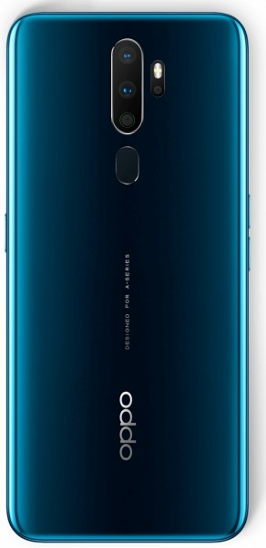 Oppo A9 (2020) in Marine Green color
