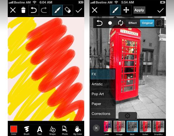 2 PicsArt Photo Studio iPhone - PicsArt Collage iPhone iPad - Création Photo et Video (gratuit)