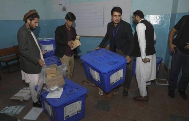 Préparation de l'élection à Kaboul le 28 septembre 2019.