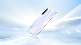 Realme X2 in Pearl White color