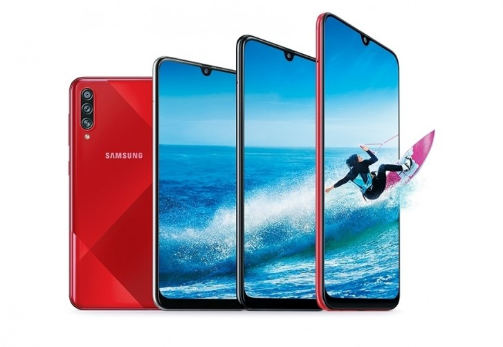 Samsung Galaxy A70s arrives with 64MP main camera, 4,500 mAh battery and new back design