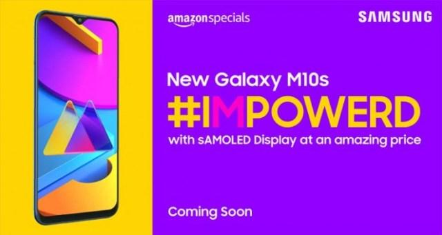 Samsung Galaxy M10s specs leak - 6.4-inch HD+ screen and 4,000mAh battery