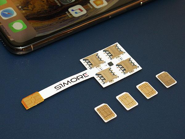 adapteur coque 4g iphone xr x quadruple multi carte sim maxiapple 01 - Voici Comment Utiliser 4 Cartes SIM sur un iPhone 11 (video)