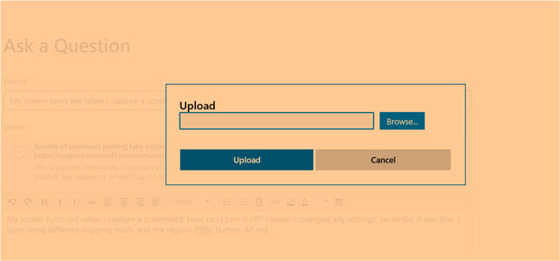 Windows 10 et le bug Orange
