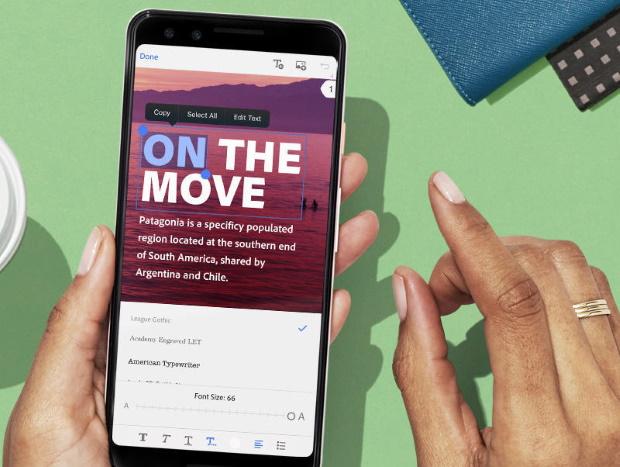 Adobe Acrobat permet l'édition fichiers PDF sur mobile, une meilleure compression des fichiers
