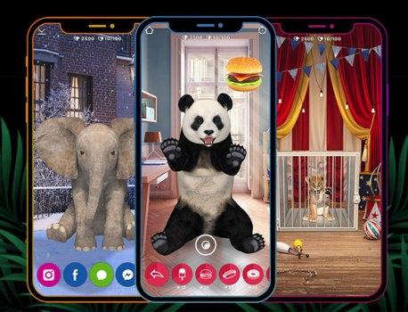 Animar iPhone iPad – Un Vrai Zoo en Réalité Augmentée (gratuit)