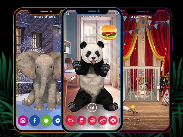 animar jeu iphone ipad 01 - Animar iPhone iPad - Un Vrai Zoo en Réalité Augmentée (gratuit)