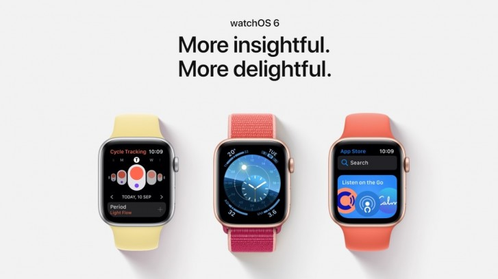 Apple releases watchOS 6.1 with Watch Series 1 and 2 support