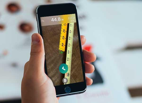 ar mesure metre ruban realite augmentee iphone 1 - AR Measure iPhone - Mètre Ruban en Réalité Augmentée (gratuit)