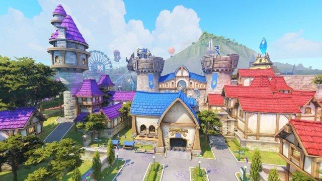 Blizzard World in Overwatch