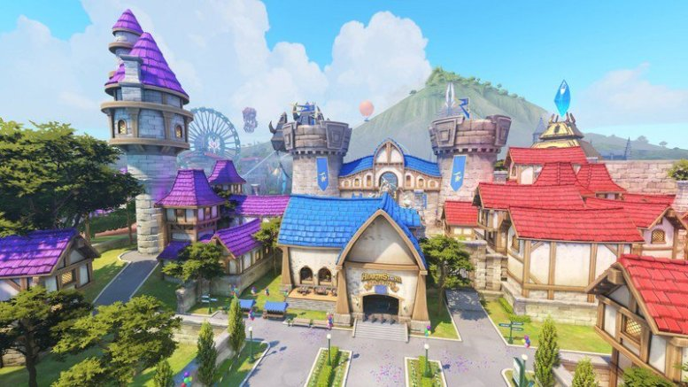 Blizzard World in Overwatch