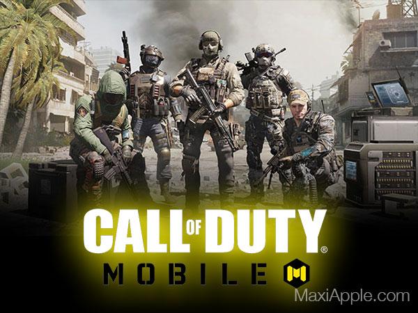 jeu call of duty mobile ios iphone ipad maxiapple 01 - Call of Duty Mobile iPhone iPad - Le Meilleur Jeu de Guerre est Là (gratuit)