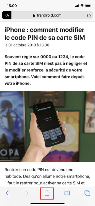 imprimer iphone 1