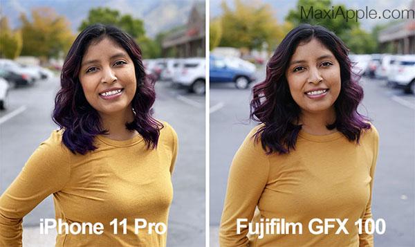 comparatif iphone 11 vs pro appareil photo fujifilm gfx 100 02 - Comparatif entre l'iPhone 11 Pro et le Fujifilm GFX à 100 MP (video)