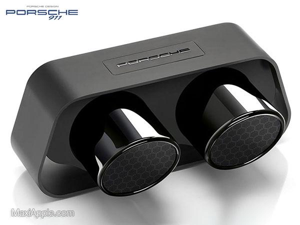 porsche design 911 speaker enceinte bluetooth prix 5 - Echappements Porsche 911 en Enceinte sans Fil (images)