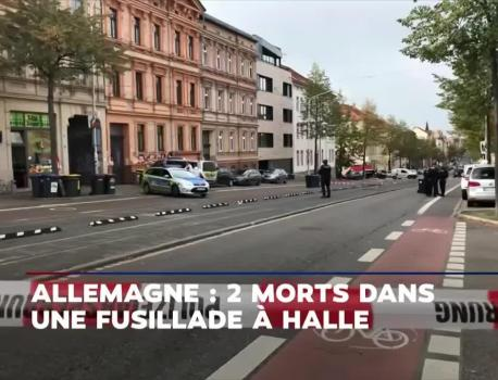 EN DIRECT – Attentat de Halle : le tireur reconnaît la motivation antisémite de l'attaque – LCI – LCI