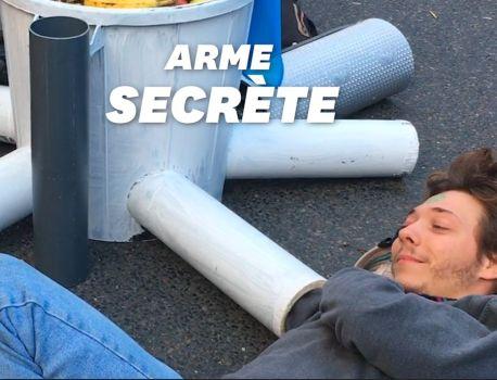 Extinction Rebellion a une arme secrète pour occuper la place du Châtelet – Le HuffPost