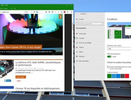 Firefox 70, Mozilla optimise son nouveau mode sombre