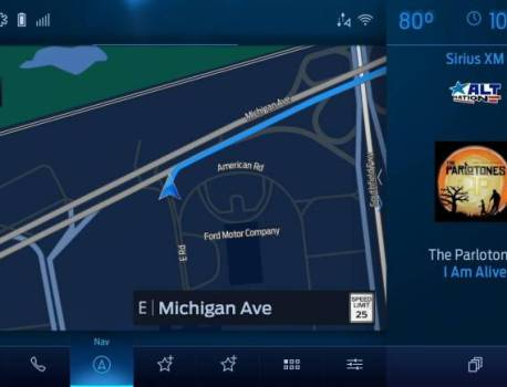 Ford unveils SYNC 4 system, OTA update plans