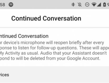 Google Assistant Continued Conversation coming to smartphones