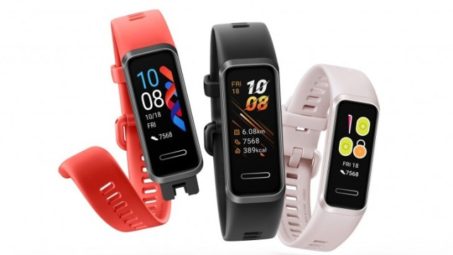 Huawei Band 4 arrives with a color display and USB-A charging port
