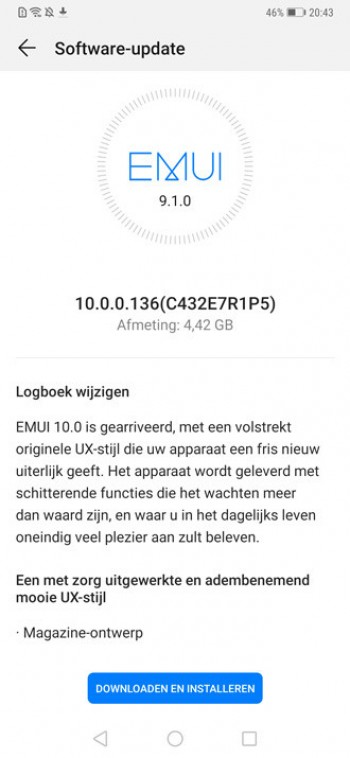 Huawei Mate 20 Pro starts receiving Android 10