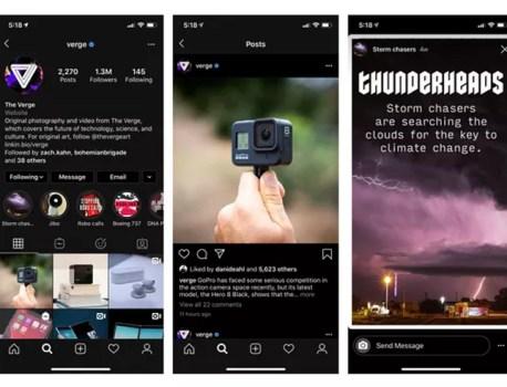 Instagram bascule du côté obscur avec la mise à jour iOS 13
