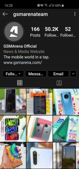 Dark Mode on Instagram for Android
