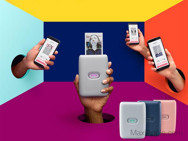 instax mini link mobile imprimante iphone smartphone maxiapple 02 - Instax Mini Link, l'Imprimante Nomade pour iPhone (video)