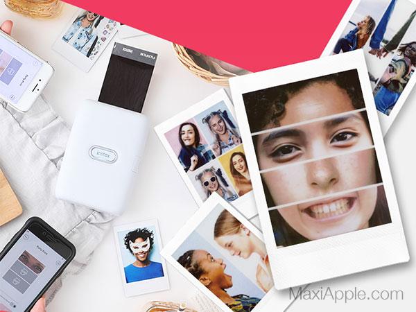instax mini link mobile imprimante iphone smartphone maxiapple 04 - Instax Mini Link, l'Imprimante Nomade pour iPhone (video)