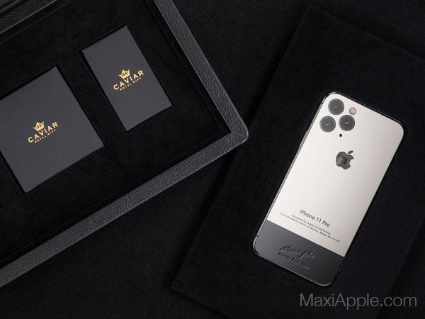 caviar iphone 11 pro superior jobs maxiapple 06 - iPhone 11 Pro en Hommage à Steve Jobs chez Caviar