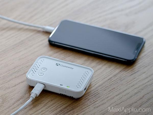 bijou mini projecteur video hd iphone ipad maxiapple 02 - Le Plus Petit Video Projecteur HD pour iPhone (video)