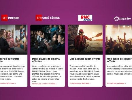Les Jours Plus SFR: bonus exclu sur un forfait mobile ou une box internet 🔥