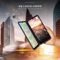 Promo images of LG V50S ThinQ