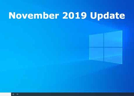 Microsoft annonce Windows 10 November 2019 Update